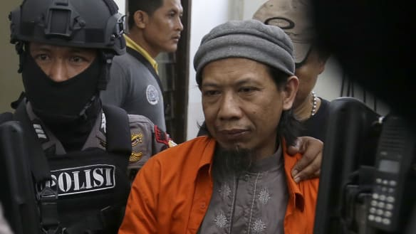 Indonesian terror leader Aman Abdurrahman 'grateful' for death penalty
