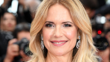 Kelly Preston at the screening of Solo: A Star Wars Story during the 71st annual Cannes Film Festival in May, 2018.