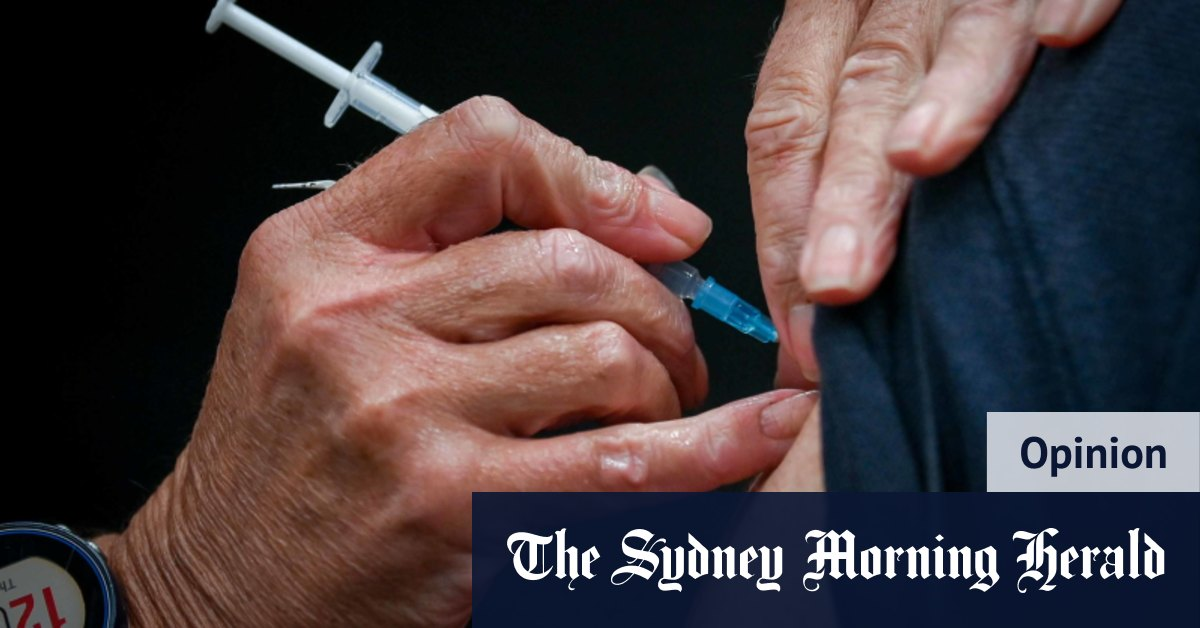 It is a race – and the vaccine is our only hope – The Sydney Morning Herald