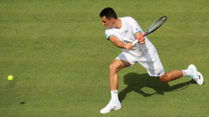 Tomic's fine trimmed, but board slams Aussie over tanking