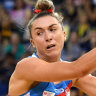 Game of her life: Klau proves pillar of strength for Swifts