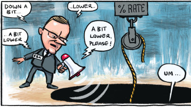 RBA governor Philip Lowe ....history suggests that fundamentally, rates will broadly move in the direction of the cash rate.