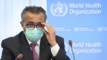 Tedros Adhanom Ghebreyesus says the poorer countries need the vaccine now.