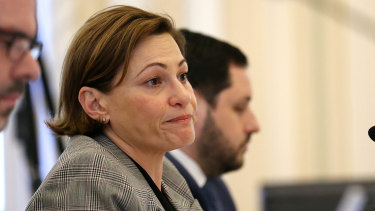 Deputy Premier Jackie Trad will stand aside if the Crime and Corruption Commisison decides to launch a formal investigation.