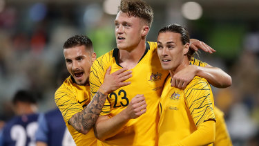 The Socceroos will not play England in London next month.