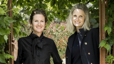 Better Packaging Co co-founders Kate Bezar (L) and Rebecca Percasky.