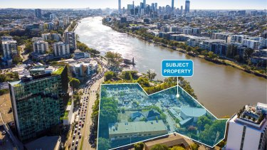 The 1.5 hectare site at 600 Coronation Drive, formerly the ABC Toowong headquarters, is now up for sale.