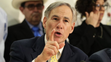 Texas Governor Greg Abbott emphasised wind turbines when explaining his state's massive power outages.