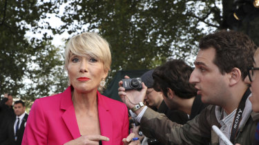 """Emma Thompson is 60 and has said, contrary to lamenting the loss of her youth, she """"loves ageing""""."""