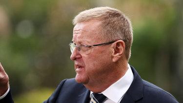Australian Olympic Committee president John Coates.