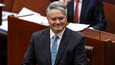 Finance Minister Mathias Cormann is resigning from Parliament.