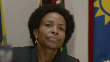 Former foreign affairs minister Maite Nkoana-Mashabane will now head the women, youth and disability portfolio.