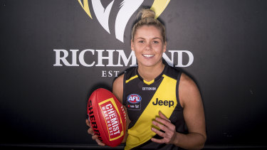 Bulldogs co-captain Katie Brennan is Richmond's first signing.