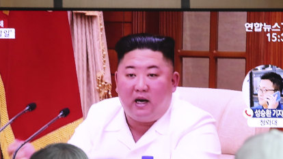 Kim declares 80-day campaign to attain this year's goals