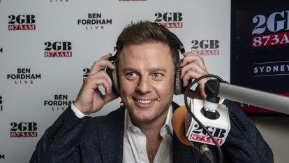 Ben Fordham holds top breakfast position in Sydney radio ratings