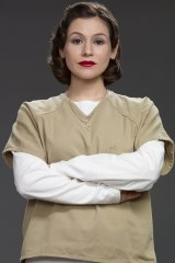 Stone plays Lorna Morello in Netflix's popular series Orange is the New Black.