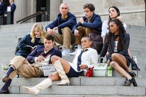 The cast of the Gossip Girlreboot.