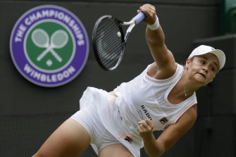 Ashleigh Barty says she is ready to go as Wimbledon returns after missing last year due to the pandemic.