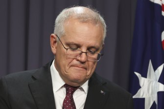 Scott Morrison shed tears this week as he spoke about the women in his life.