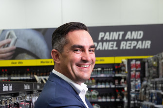 Super Retail Group chief executive Anthony Heraghty said the company found it difficult to predict the full effects of the bushfire crisis.