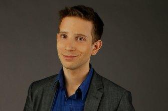 Audible's director of digital content Ben Naparstek.