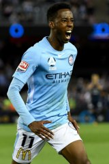 Bruce Kamau is one of three Melbourne City players headed to the Wanderers.