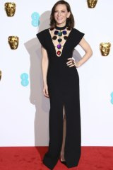 Cate Blanchett proves the power of the 'other' LBD, the long black dress, at the BAFTAs.