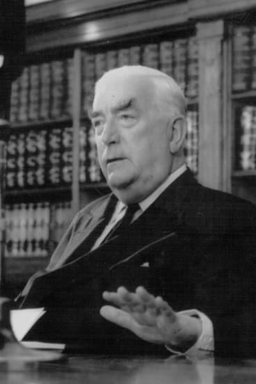 Thanks to a short-lived rule, Denning had Menzies to himself for a little while each day in 1939.