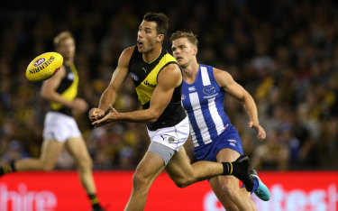 Tiger Alex Rance says there have been emotional times this year.