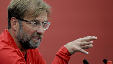 Liverpool manager Juergen Klopp.