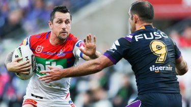 Mitchell Pearce has been in superb form for the Knights, but is carrying several injuries.