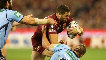 Greg Inglis proved a handful throughout the series.
