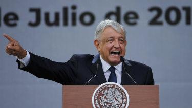 Mexico's President Andres Manuel Lopez Obrador.