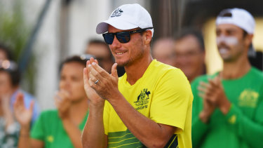 Lleyton Hewitt will be on hand to help unveil the new court at Wimbledon.