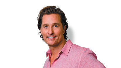 Matthew McConaughey, Pete Evans and the rise of the celebrity politician