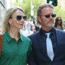 McLachlan accuser regularly sat on his lap between scenes, court told