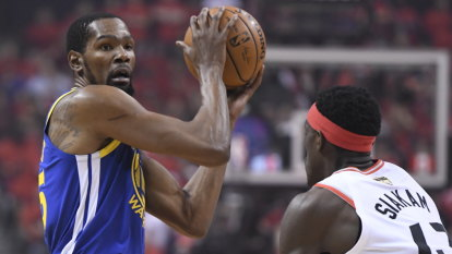 NBA Finals 2019 LIVE: 'We did it for Kevin': Golden State keep series alive after injury heartbreak