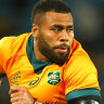 Samu Kerevi will make a call on his availability to face Japan in the next 24 hours.