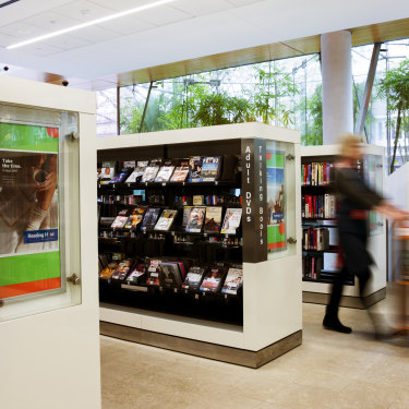 Even though libraries offer digital downloads, the vast majority of items borrowed are still in hard-copy form.