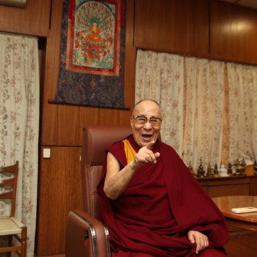 The Dalai Lama in March 2020.