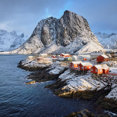Norway, which has built its fortune on oil, has ditched plans to drill for it near its Lofoten Islands in the Arctic, above.
