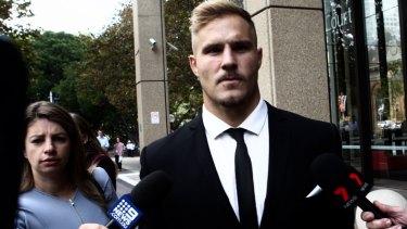 Jack de Belin is hopeful of resuming his NRL career.