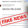 'Bizarre tricks': Labor hit by new 'fake news' media release stirring death tax fears