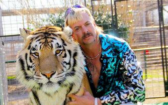 Joe Exotic in Tiger King: Murder, Mayhem and Madness.