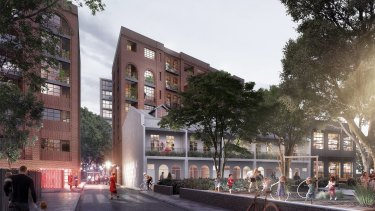 The NSW government will partner with Prince's Trust Australia on a mixed tenure housing project in Glebe.