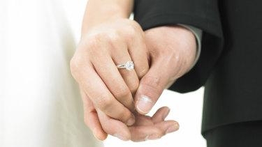 Newlyweds have to prove their marriage is genuine.