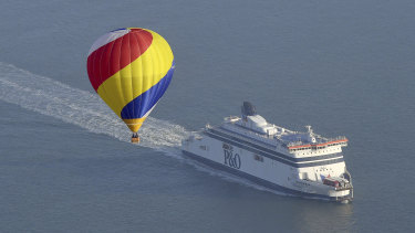 Hundreds of ferries – carrying passengers for tourism, as well as freight –ply the English Channel each week.