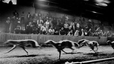 A night race in 1991.