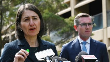 Treasurer Dom Perrottet has been touted as a potential successor to Premier Gladys Berejiklian.