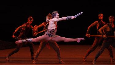 Bolshoi Ballet performs Spartacus.